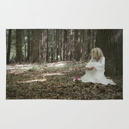 In the woods Rug