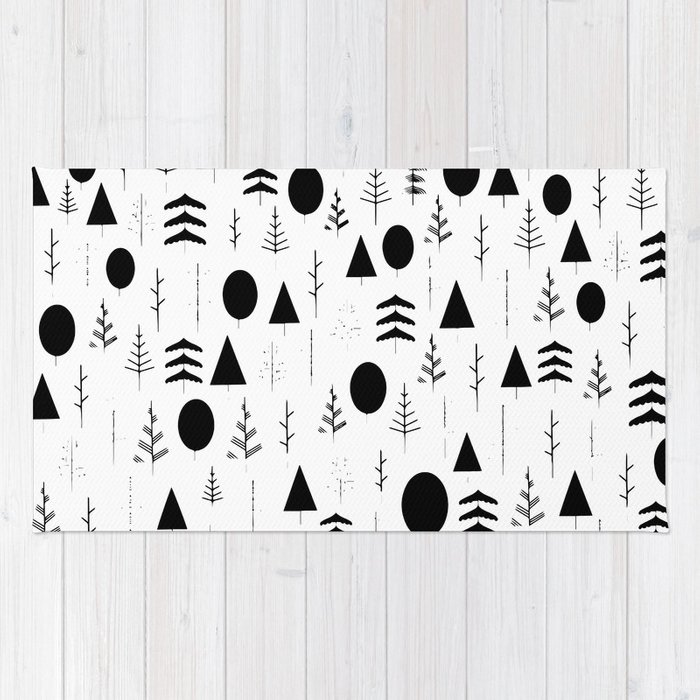 Warli painting rug by 83oranges society6 warli painting rug altavistaventures Image collections