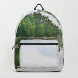 Mattawa River in Colour Backpack