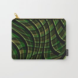 Green wave ,green Carry-All Pouch