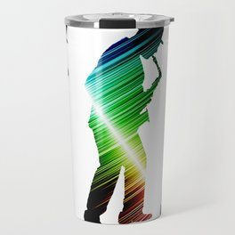 Saxophone player 03 Travel Mug