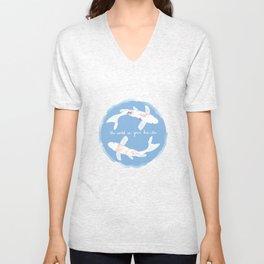 The World Is Your Koi-ster Unisex V-Neck