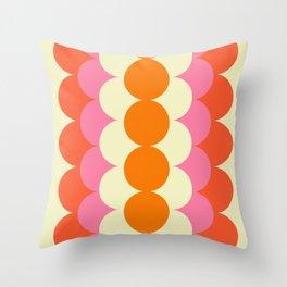 Gradual Sixties Throw Pillow