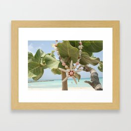 """Be A Star!"" in Aruba Framed Art Print"