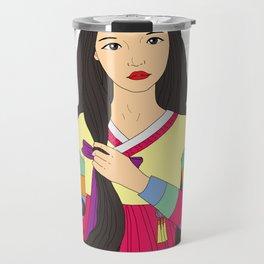 장화 'The Korean Rose' Travel Mug