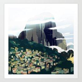 Rocinha Day Art Print