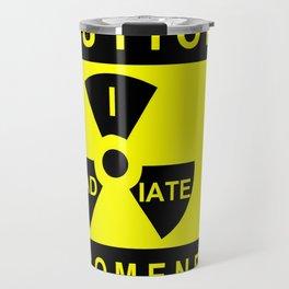 Caution Travel Mug