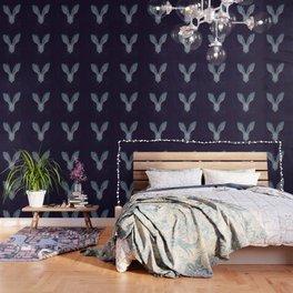 Jackelope Skull Wallpaper
