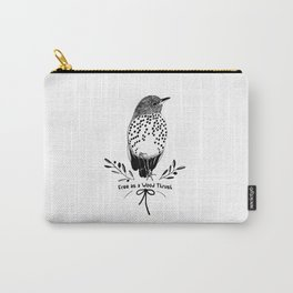 Free as a wood thrush Carry-All Pouch