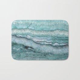 Mystic Stone Aqua Teal Bath Mat