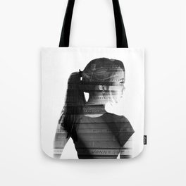 She was lost in her longing to understand. Tote Bag