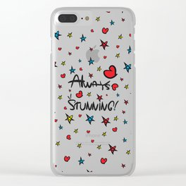 Always stunning Clear iPhone Case