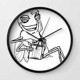 Fly in the facts  Wall Clock
