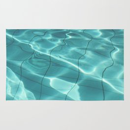 Water / Swimming Pool (Water Abstract) Rug