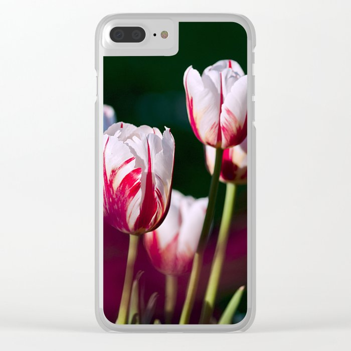 tulips #society6 #decor #buyart Clear iPhone Case