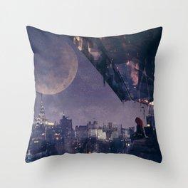 Concept Art: Buckynat & NYC Throw Pillow