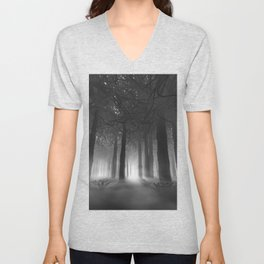 Soul of the Forest B&W Unisex V-Neck