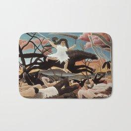 War by Henri Rousseau, 1894 Bath Mat