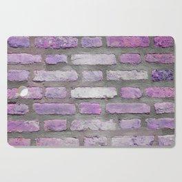 Venetian Bricks in Pink and Lavender Cutting Board