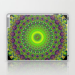Snowflake #002 solid Laptop & iPad Skin