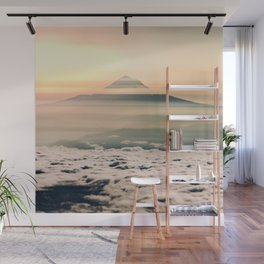 The West is Burning - Mt Hood Wall Mural