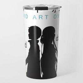Sword Art Online Poster Travel Mug