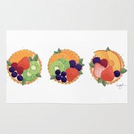 Fruit Tartlet Flight Rug