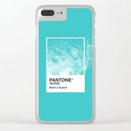 PANTONE SERIES – SPLASH Clear iPhone Case
