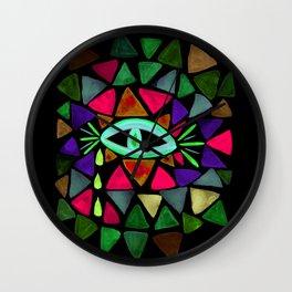 Crystaleyes 6 Wall Clock
