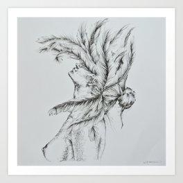 'Leda and the Swan' Art Print