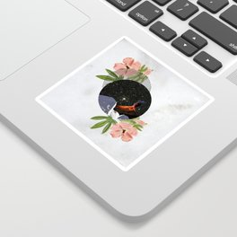 Hawaiian Space Marbles Sticker
