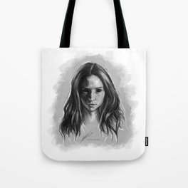 """""""Gooverly"""" Demon Gray Drawing Tote Bag"""