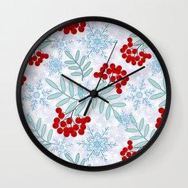 Christmas pattern.2 Wall Clock