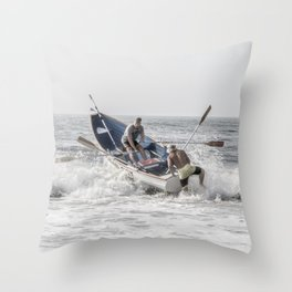 Get a leg up Throw Pillow
