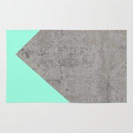 Sea Collage on Concrete Rug