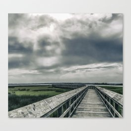 Man In The Clouds Canvas Print