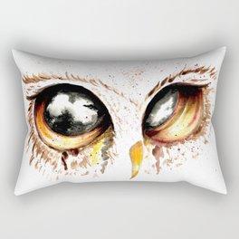 Bown owl eye Rectangular Pillow