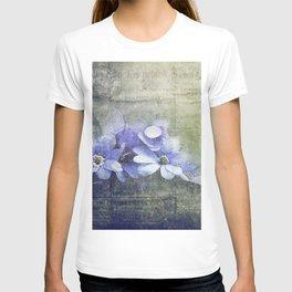 Vintage Floral Decorative Worn T-shirt