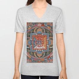 Mandala of Jnanadakini Unisex V-Neck