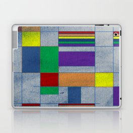 Mid-Century Modern Art - Rainbow Pride 1.0 Laptop & iPad Skin