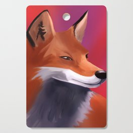 Fox Painting Cutting Board
