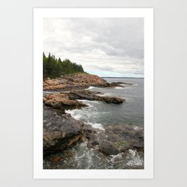 Acadia Magic Art Print