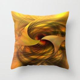 Abstractica Throw Pillow