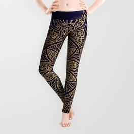 Gold Mandala Leggings