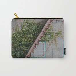Stone House with Ivy Wall Carry-All Pouch