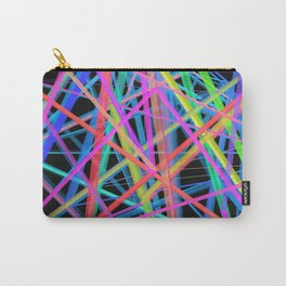 Colorful Rainbow Prism Carry-All Pouch