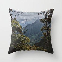 The Garden Isle Throw Pillow