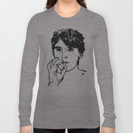 Boy with cigarette Long Sleeve T-shirt