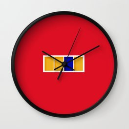 Window to the Heart Wall Clock