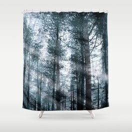 I Talk to the Trees... Shower Curtain